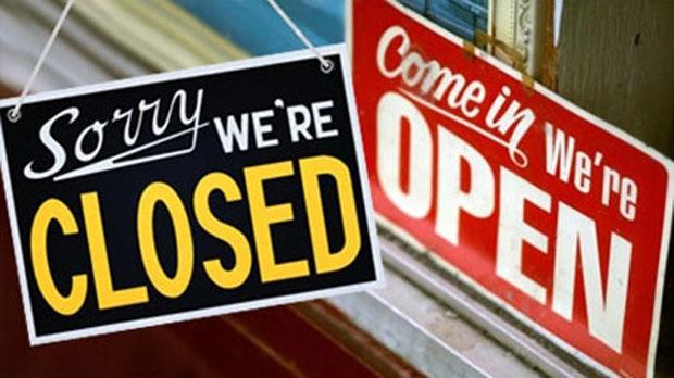 Otwieranie i zamykanie lokali gastronomicznych