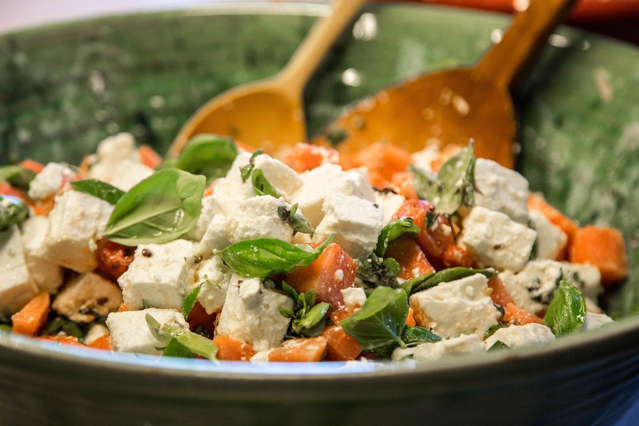 Ser feta jako składnik potrawy